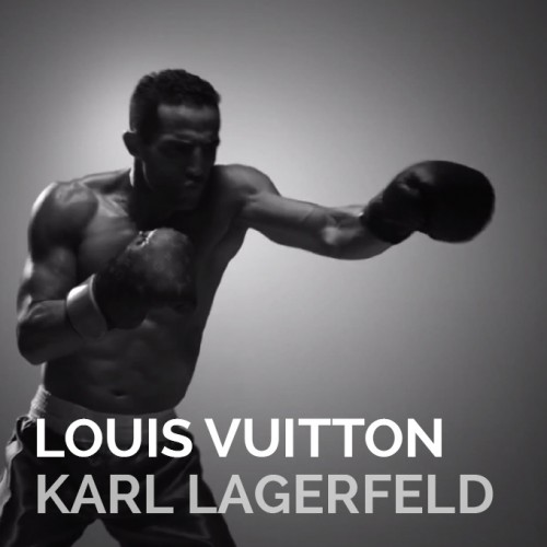LOUIS VUITTON – KARL LAGERFELD PUNCHING TRUNK TEASER