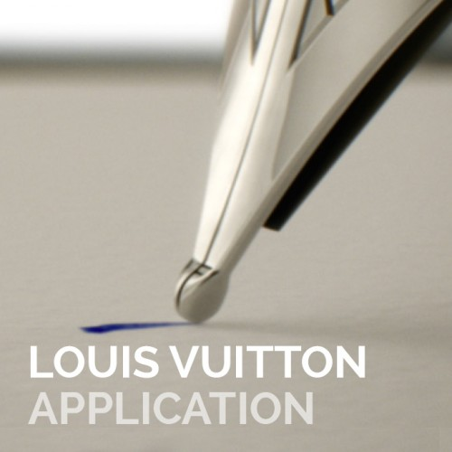 LOUIS VUITTON – Application iPad & Film