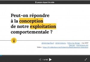 Slideshare Hubert Guillaud